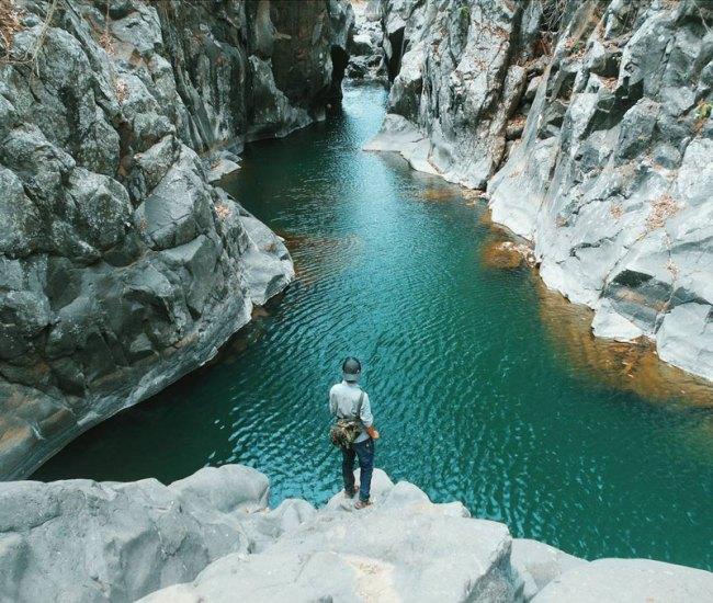 Tempat Wisata Leuwi Jurig Grand Canyon Mini di Garut