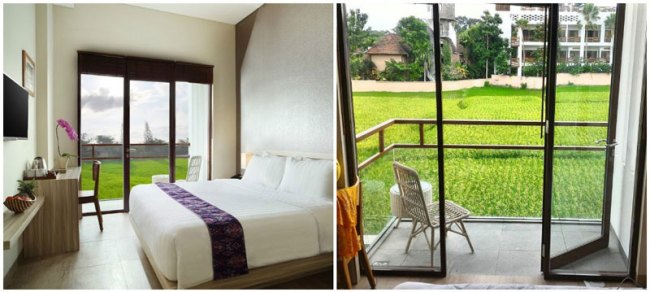 BALI HOTELS UNDER $48 TO ENJOY PADDY FIELDS VIEW FROM YOUR ROOM