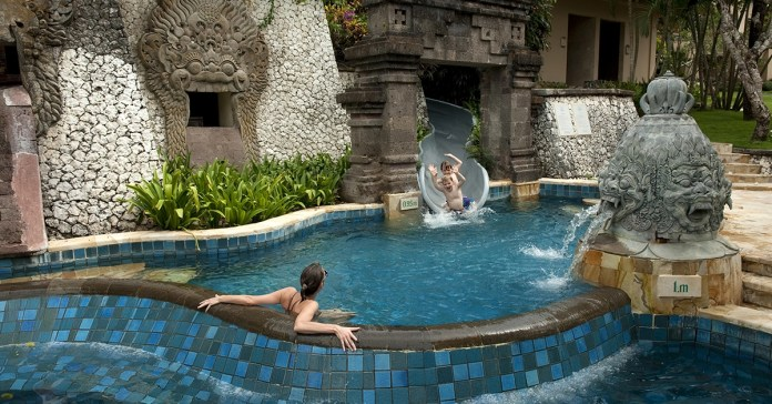 12 Bali Beach Resorts With Amazing Water Slides And Kid Pools