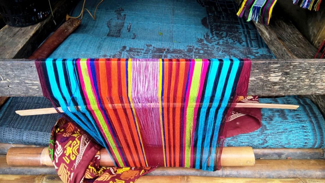 lombok telaio sasak al villaggio