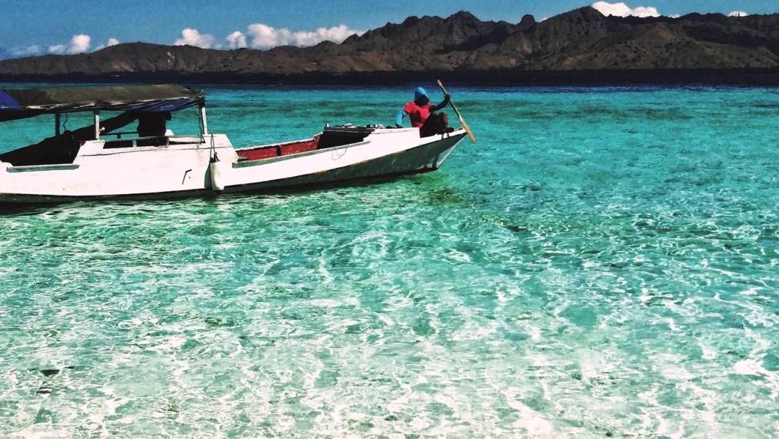 indonesia barca e mare