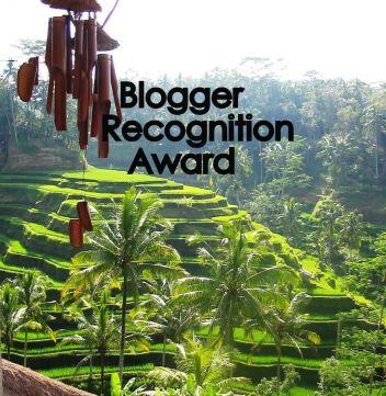 Indonesia con Bru a Blogger Recognition award 2017 qualche piccola gratifica
