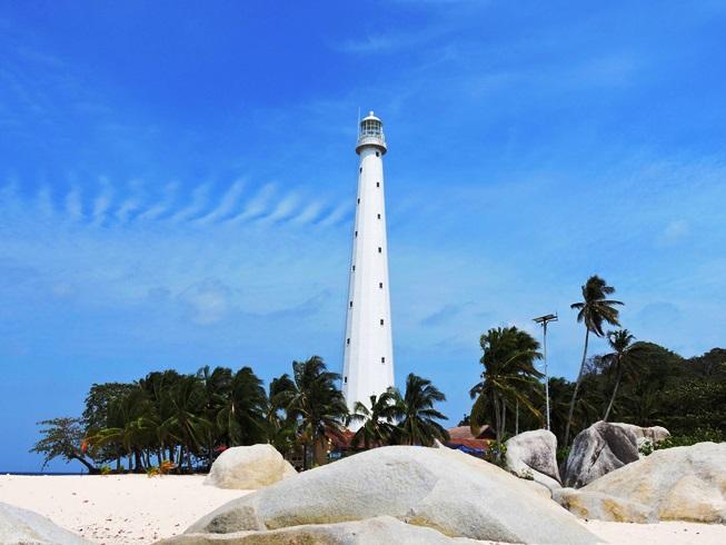 Belitung Lengkuas il faro