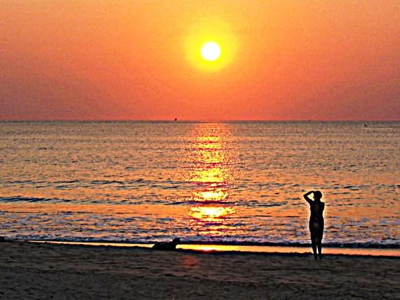 Bali Jimbaran tramonto