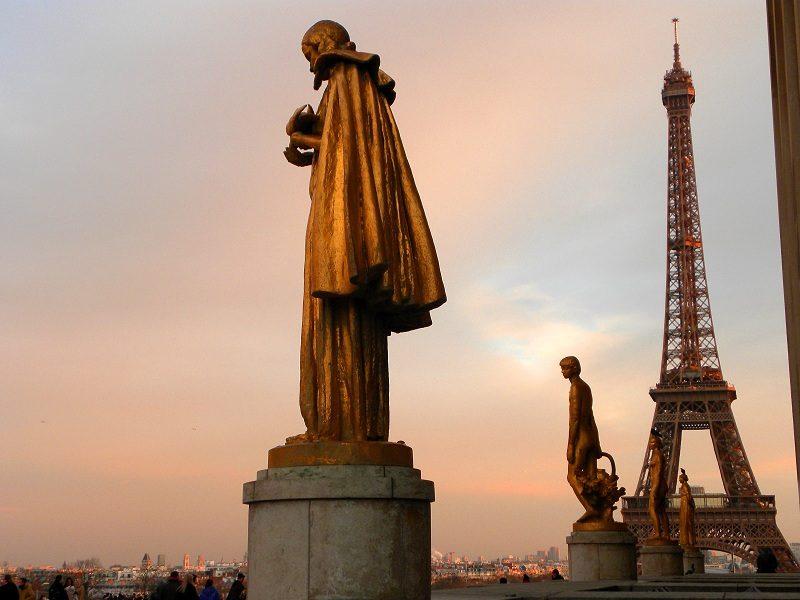 Paris trocadero