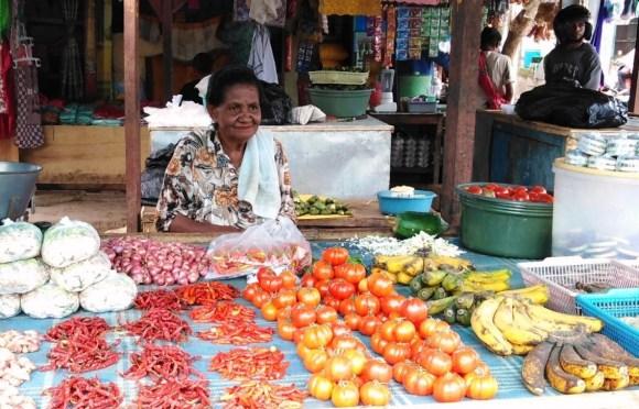 Timor Alor Rote  al mercato