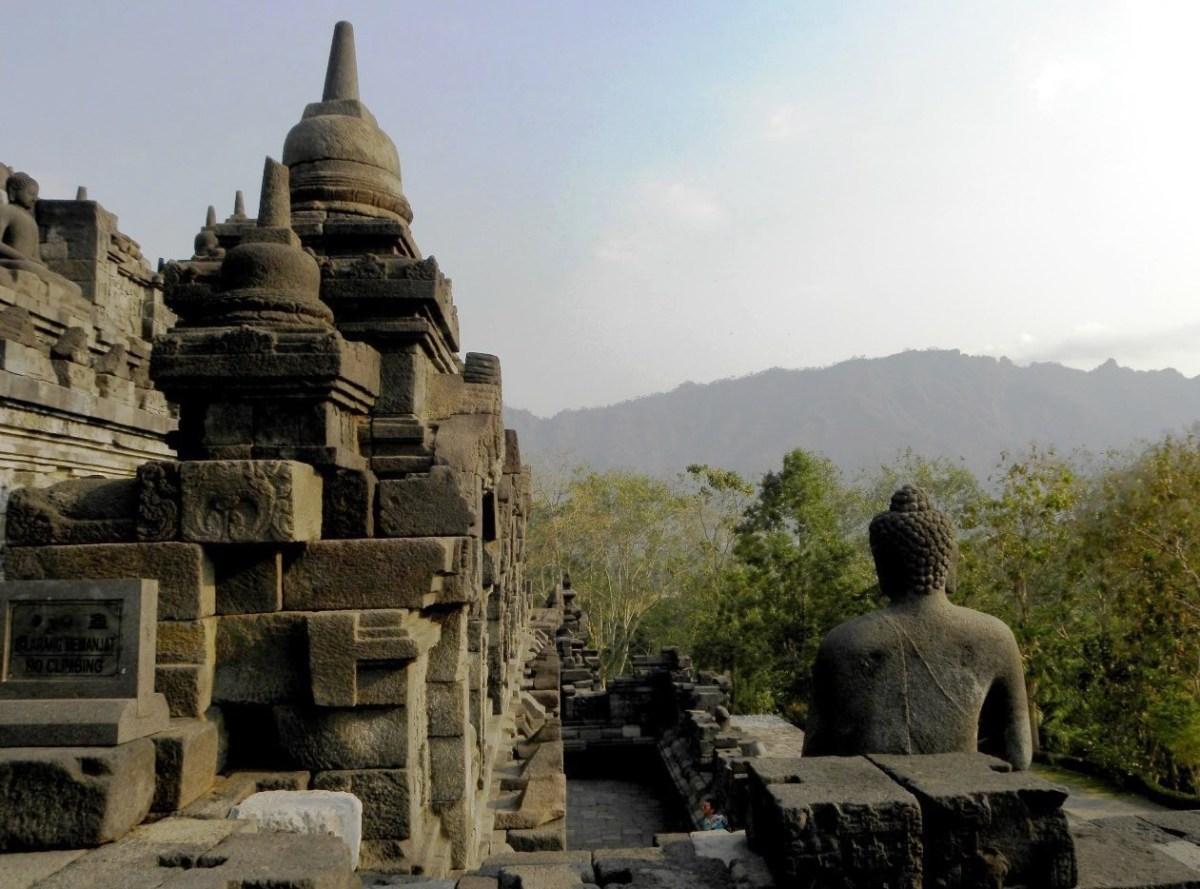 Indonesia Borobudur atmosfera