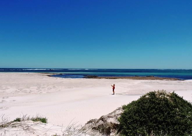 Australia le bianche dune di Lacelin