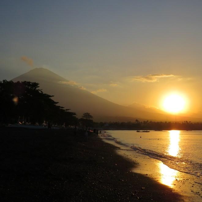 Bali vulcano agung visto da Amed