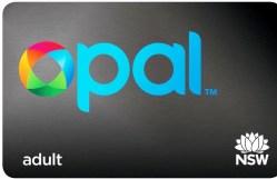 Sydney Opal Card