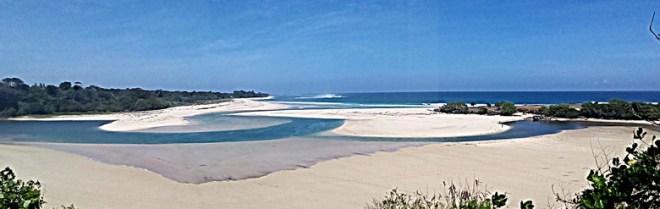 Ratenggaro beach la vista dall'alto