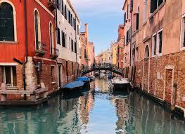 Italia Venezia canale