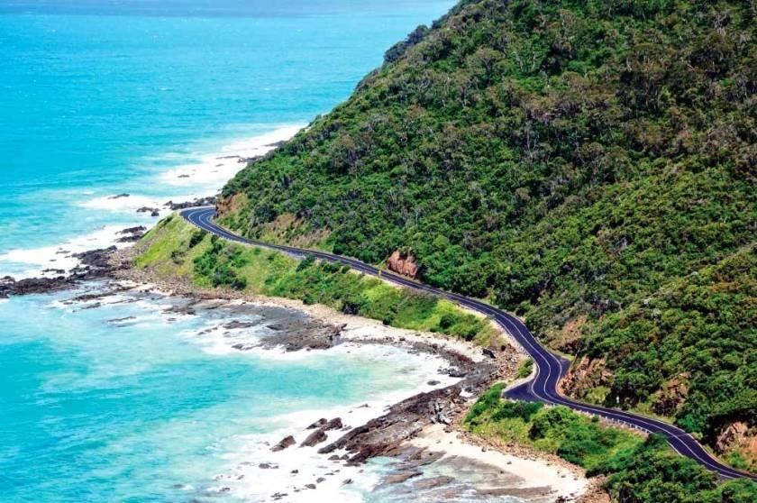 Victoria great ocean road view