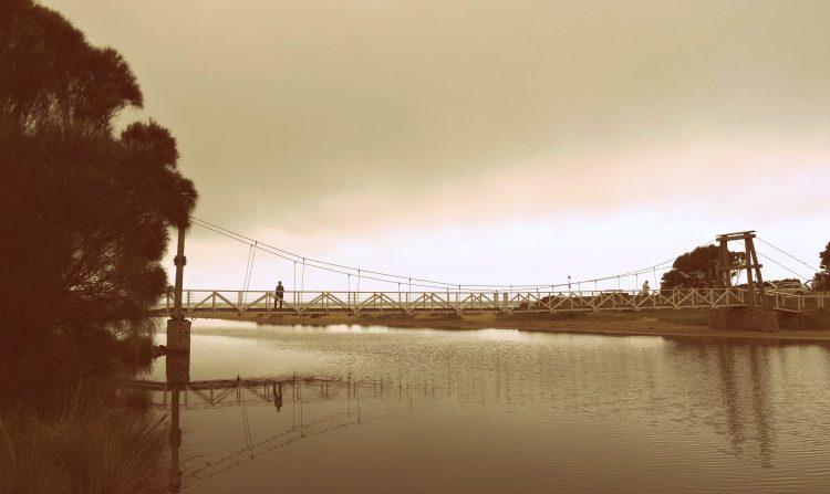 great ocean road   Lorne Swing bridge