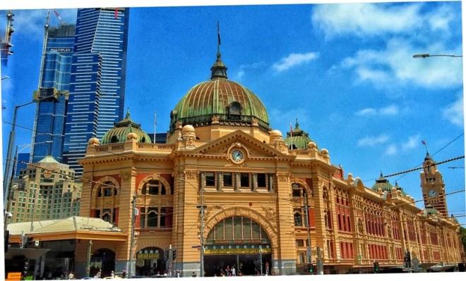 Melbourne Flinder station