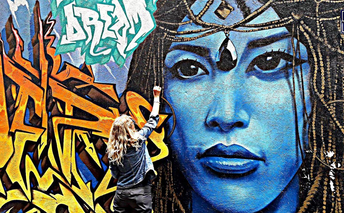 melbourne street art disegnando