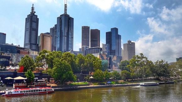 victoria Melbourne yarra river
