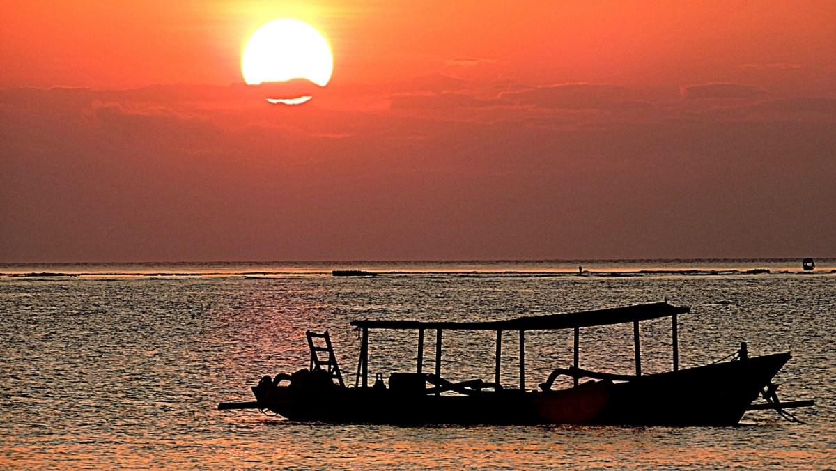 Gili tramonto
