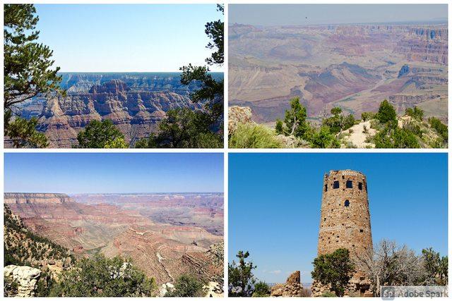 West Coast Grand Canyon Desert View Drive