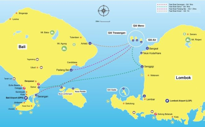 fast-boat-to-gili-routes-map