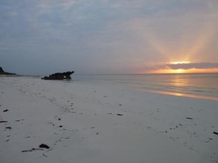 kenia Watamu la spiaggia