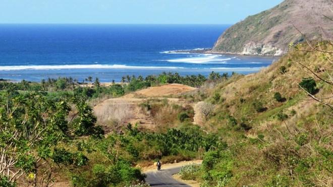 lombok strada con vista
