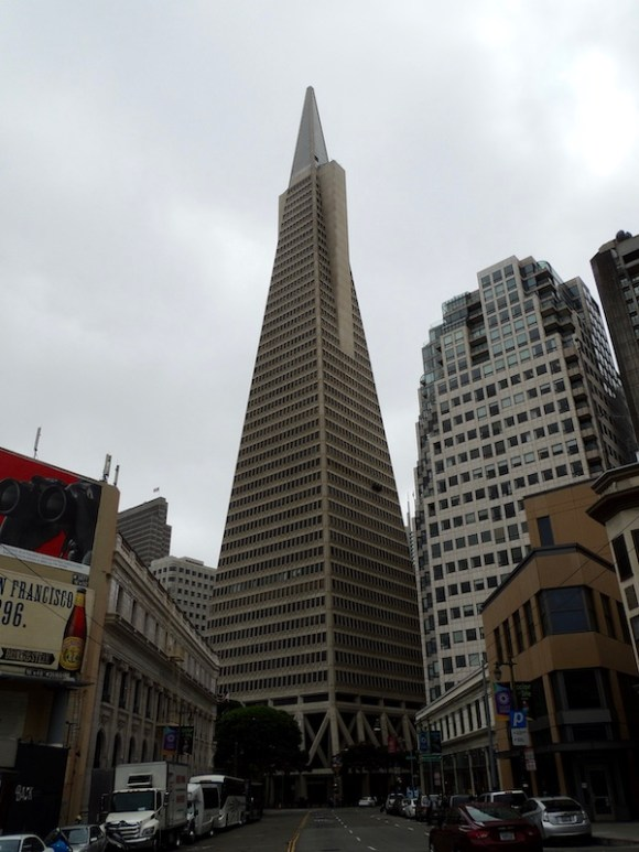 Le città della West Coast San Francisco: Financial District - Transamerican Pyramid