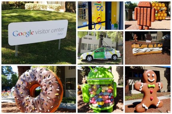 Le città della West Coast Mountain View: Google campus