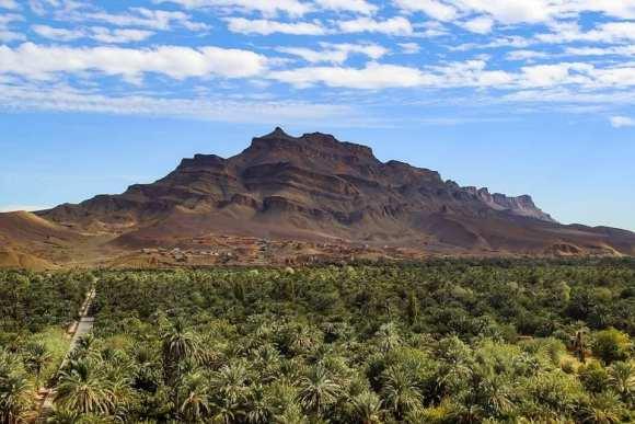 Marocco valle del fase e monte kissani