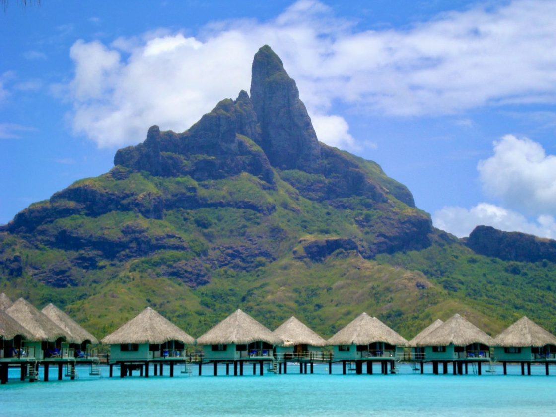 Polinesia: 50 sfumature di blu