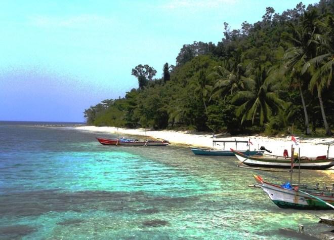 sumatra mare e barche