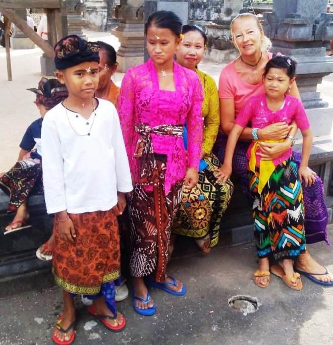 nomi balinesi :al tempio