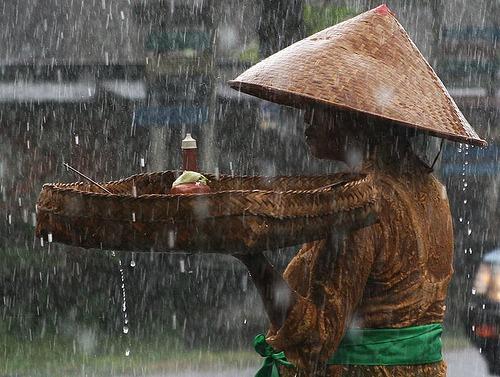 rain in Bali, Indonesia Travel guide