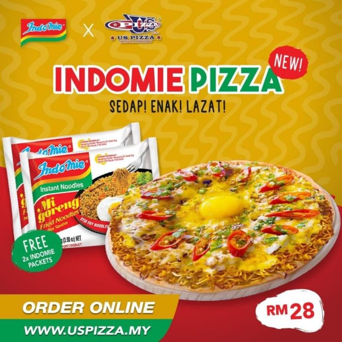 First Indomie Pizza In The World Available In Malaysia Indonesia Expat