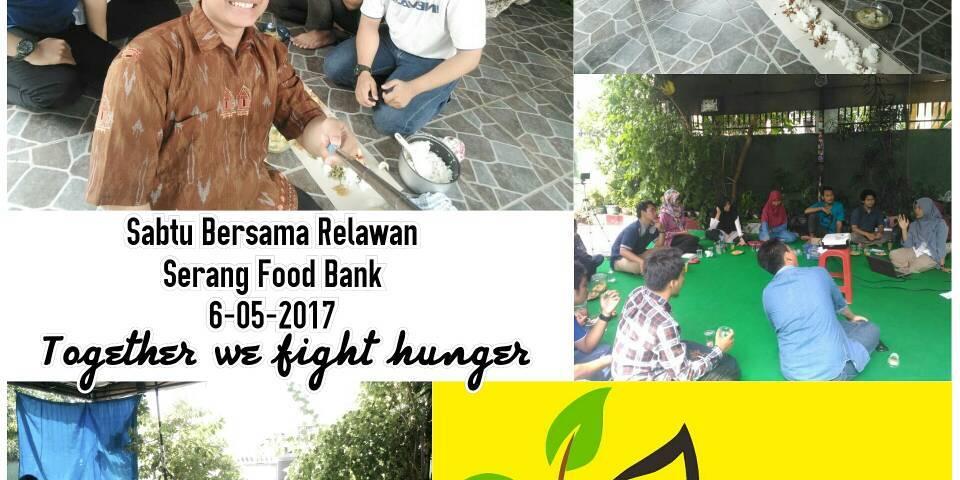 Sabtu Bersama Relawan Serang Food Bank