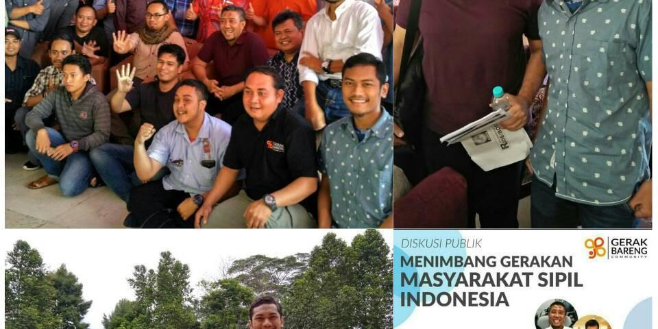 diskusi publik Menimbang Gerakan Masyarakat Sipil Indonesia
