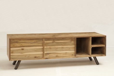 Mexico Wooden Buffet TV stand 4 - Storage Furniture