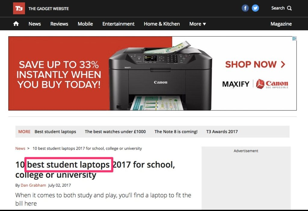10 best student laptops 2017 for school college or university T3 1