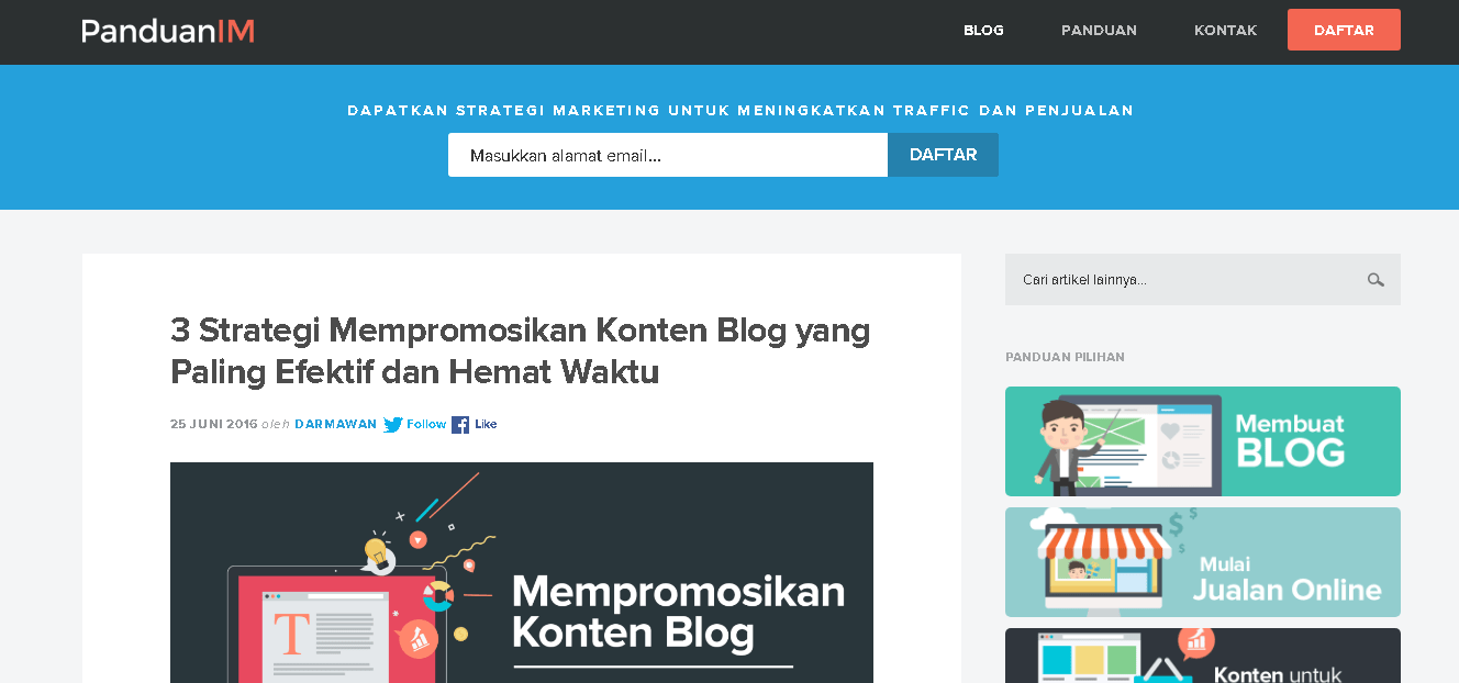 referensi website untuk belajar digital marketing 9 PANDUAN IM