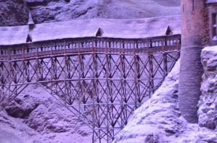 covered bridge from below