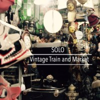Vintage Train to Solo for a Vintage Market