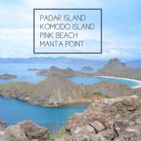 Padar island - Komodo Island - Pink Beach & Manta Point