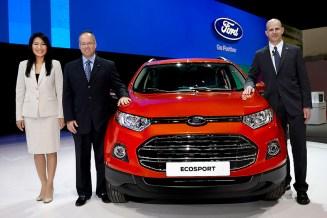 Ford launching Ecosport BIMS 2013