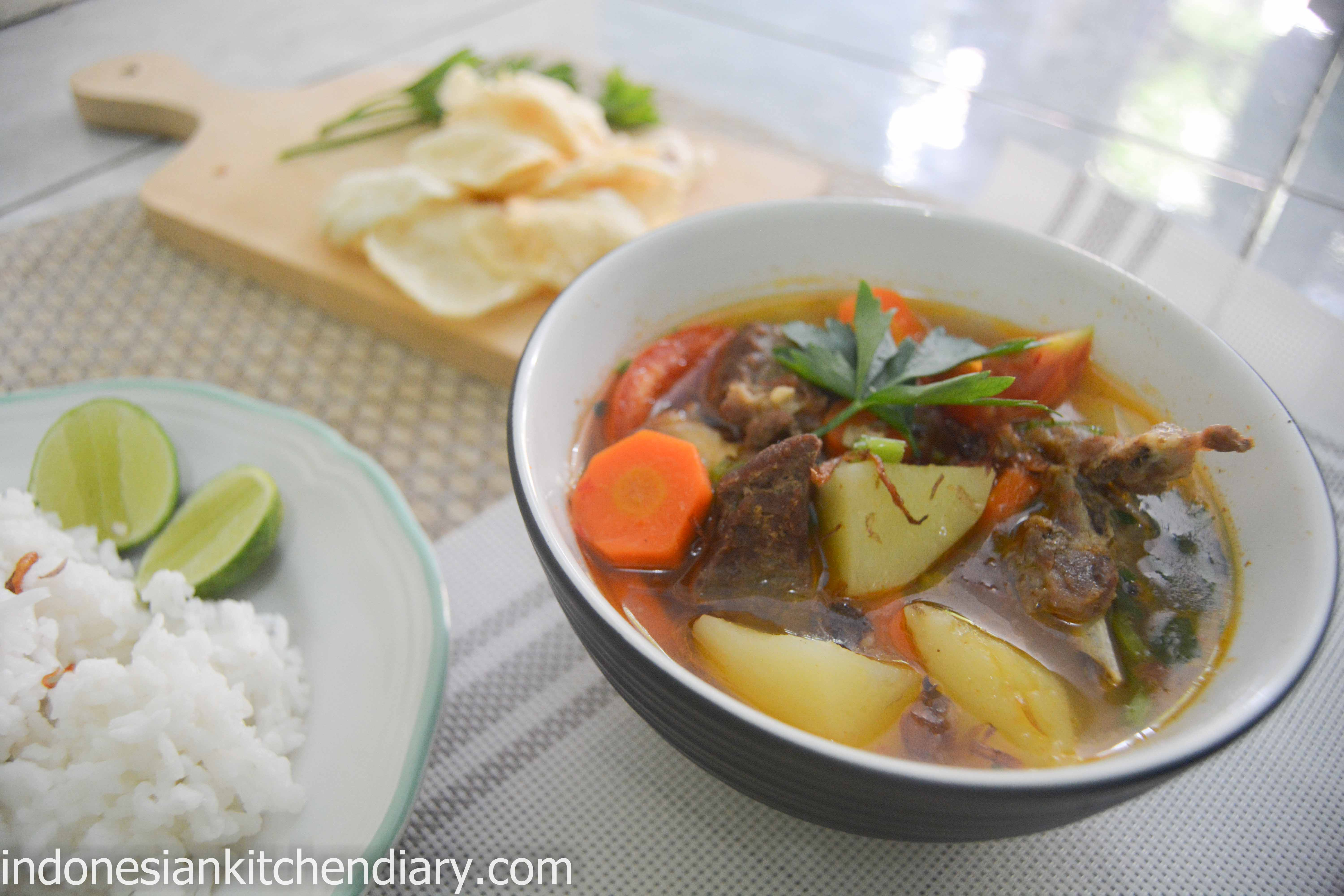 Indonesian Styled Mutton Soup