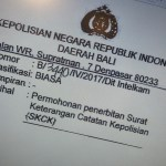 Indonesian Translation Service Reply to Application for Certificate of Police Record