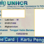 Refugee Card - Kartu Pengungsi - Indonesian Translation Service