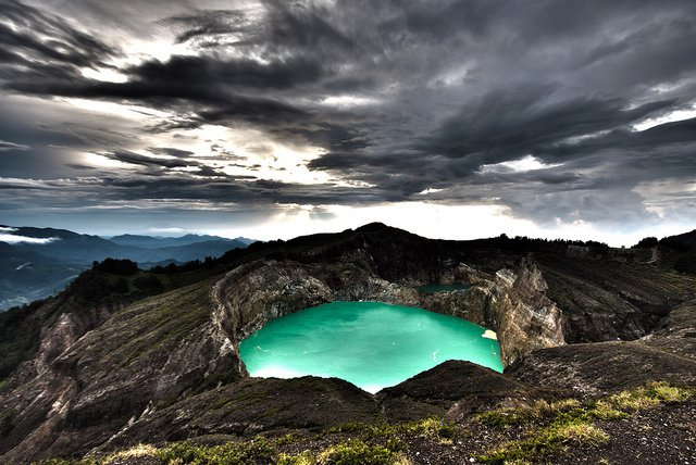 Kelimutu volcano Flores