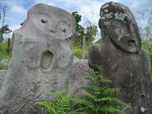 Sulawesi monoliths