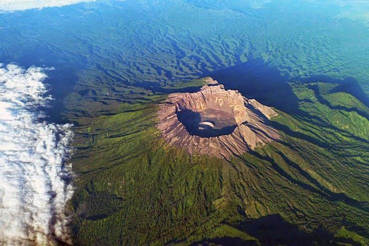 gunung Raung Indonesia East Java