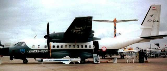 Pesawat CN 235 MPA Terbaik di Kelasnya di Dunia (3/3)